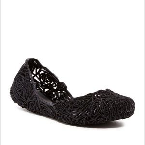 NEW Melissa Campana Fitas II Caged Jelly Flats